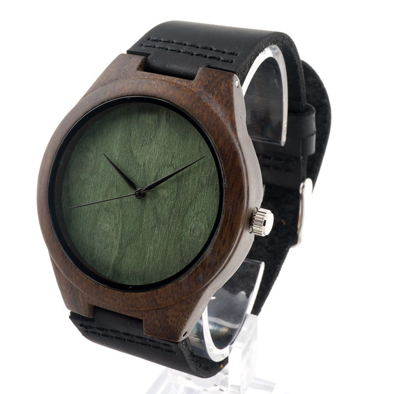 watches wooden p genuine at bobobird strap bird quartz leather banggood natural watch bobo