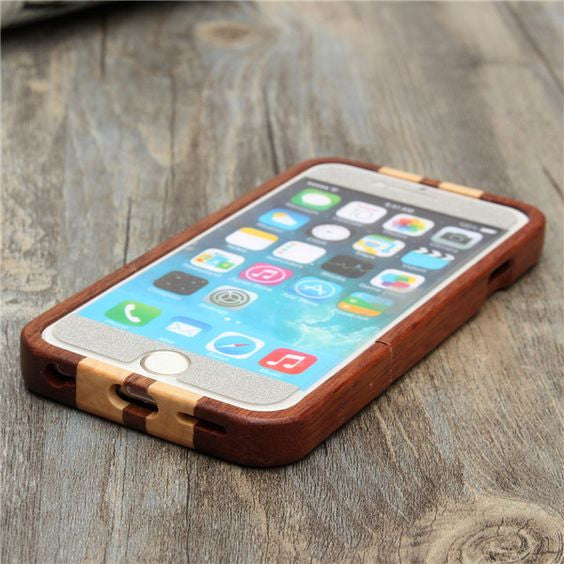 Wave Rider Hand Shaped Wood iPhone 5 5s Cover