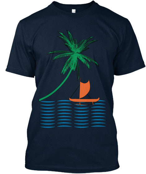Pacific Islander Outrigger  Canoe Shirt
