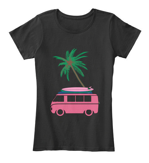 Women's Vintage Surf Bus Shirt