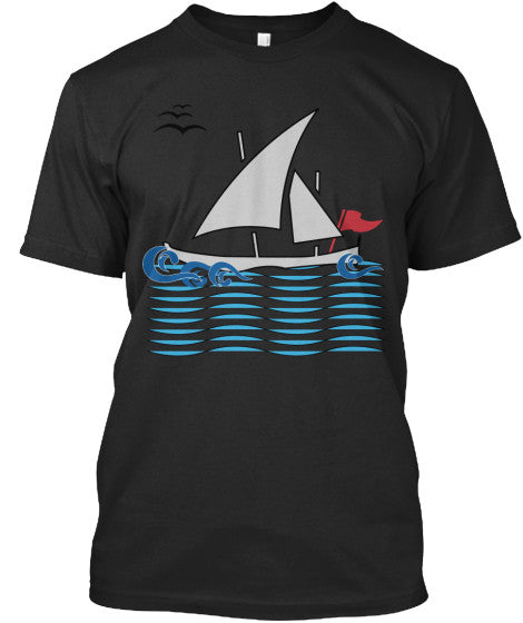 Wave Runner Men's Sailing Shirt