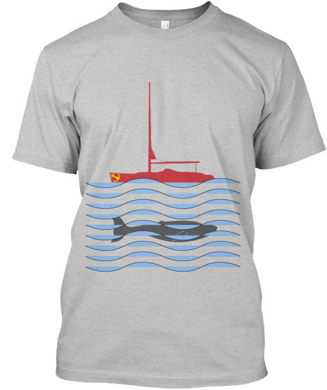 Pacific Whale Watcher Men's Sailing Shirt