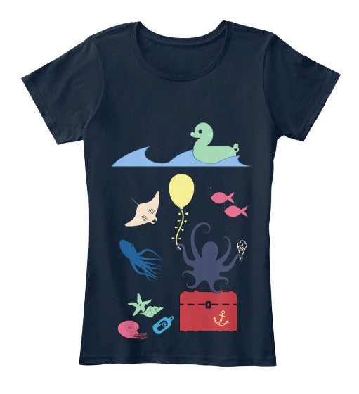 Under the Sea Birthday Party Women's Shirt