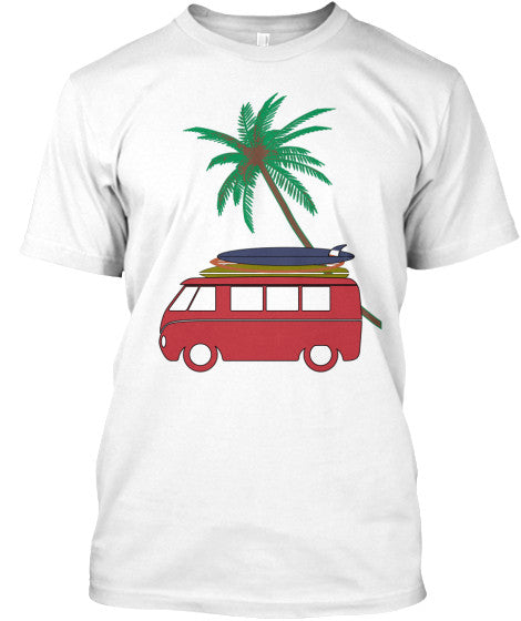 Vintage Surf Bus Men's Van Shirt