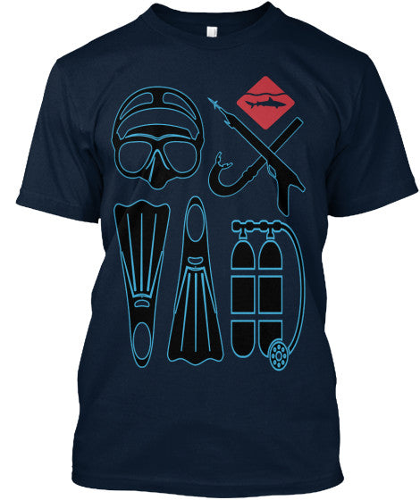 Men's Diving Gear Shirt