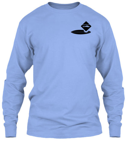 Shark Bite Men's long Sleeve Shirt