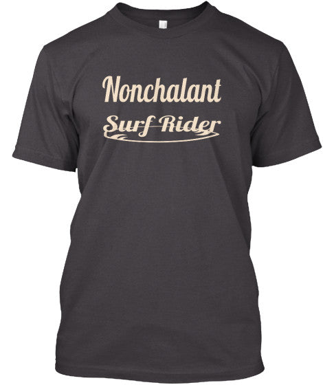 Nonchalant Surf Rider Men's Shirt