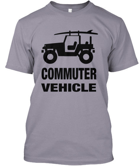 Men's Commuter Vehicle Jeep Surf Shirt