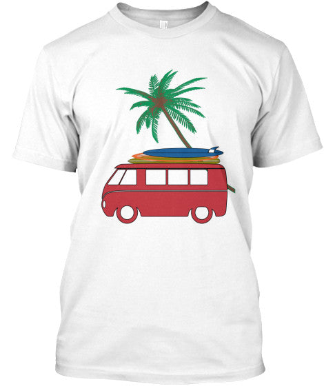 Men's Vintage Surf Bus Shirt