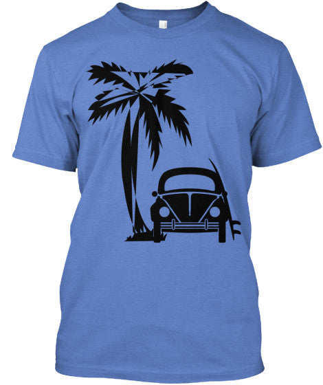 Men's Vintage Style Surf Shirt
