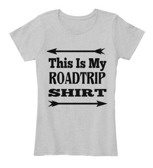 This is My Roadtrip Women's Heather Shirt