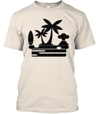 Island Vibes Men's Surf Shirt