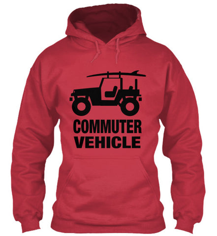 Men's Commuter Vehicle Surf Hoodie