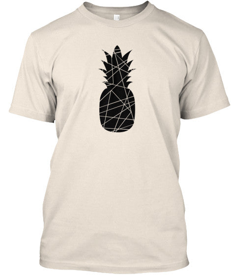Men's Black Pineapple Shirt
