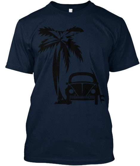 Men's Vintage Surf Bug Shirt Beetle VW