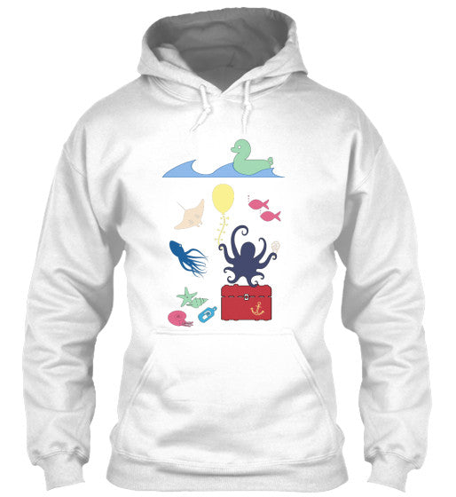 Under the Sea Birthday Party Women's Hoodie