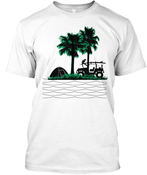 Surf Camp Costa Rica Men's Shirt
