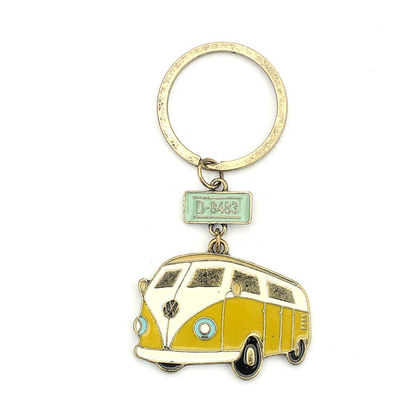 Vintage VW Bus Key Chain