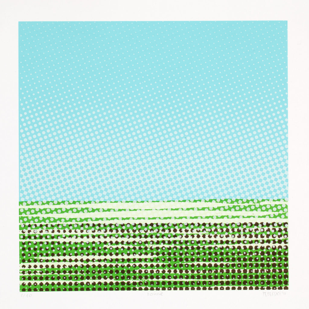 110408 | APLA | Serigraphy on paper | PF: 35x35cm BF: 30x30cm | Edition: 10 | PEPERSKI 2011