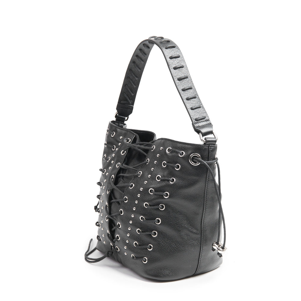 The Corset Bucket Bag