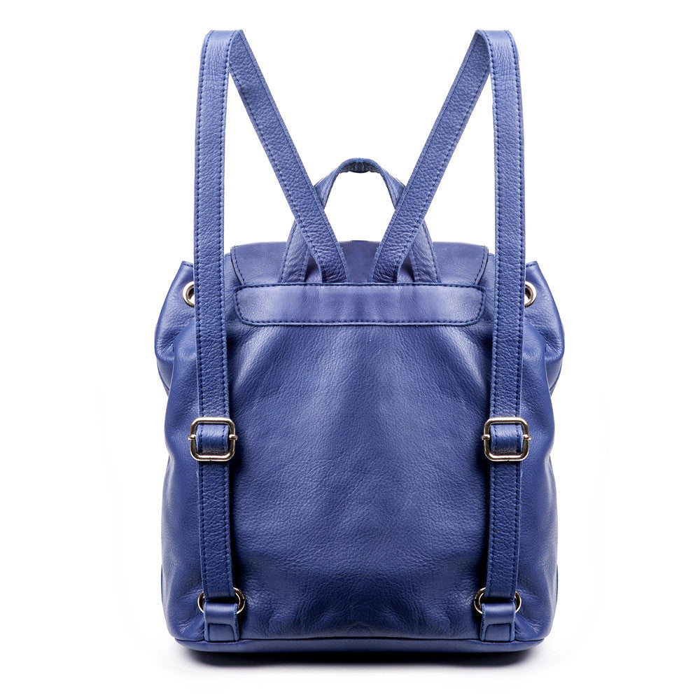 Linea Pelle Dylan Backpack in Cobalt
