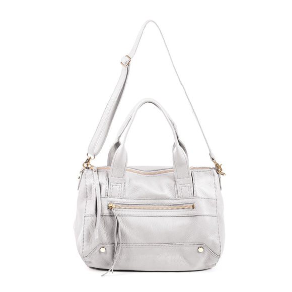 Linea Pelle Walker Satchel in Bone