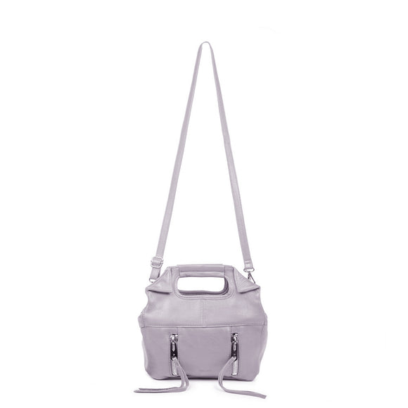 Linea Pelle Wyatt Mini Tote Bag in Grey