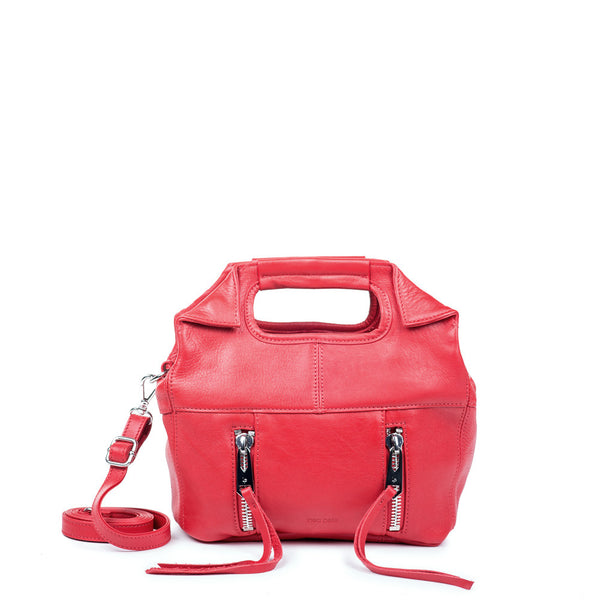 Linea Pelle Mini Wyatt Tote in Red