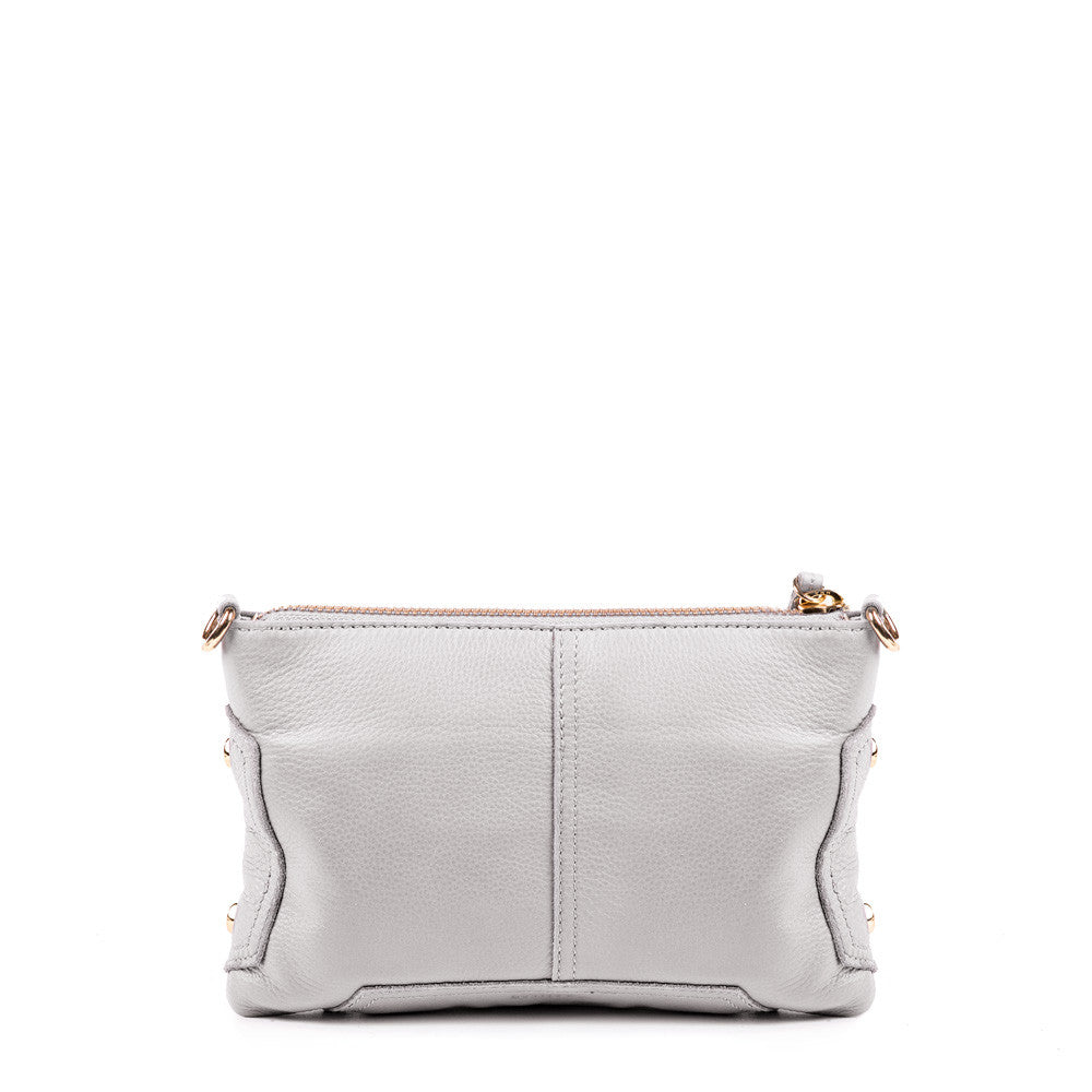Linea Pelle Walker Crossbody Bag in Bone