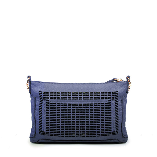 Linea Pelle Preston Crossbody Bag in Navy