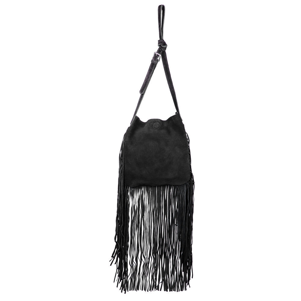 Stevie Fringe Crossbody Bag