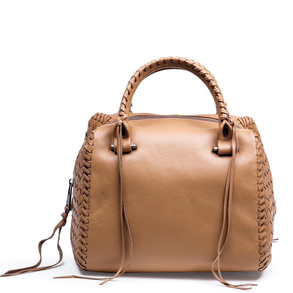 Linea Pelle Whitley Satchel in Scotch