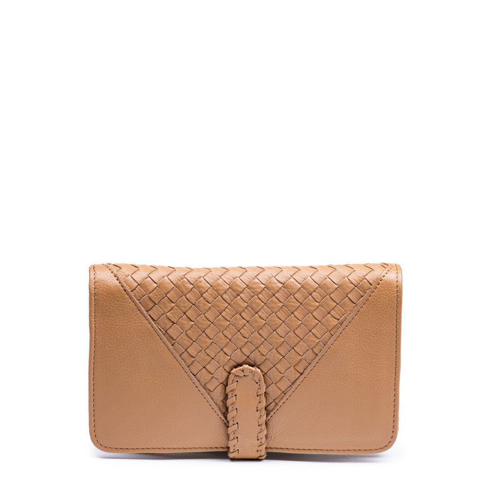 Linea Pelle Whitley Bi Fold Wallet in Scotch