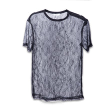 Load image into Gallery viewer, Lace Oversize Tee