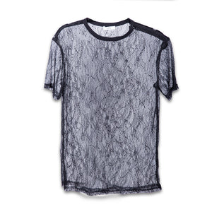 Lace Oversize Tee