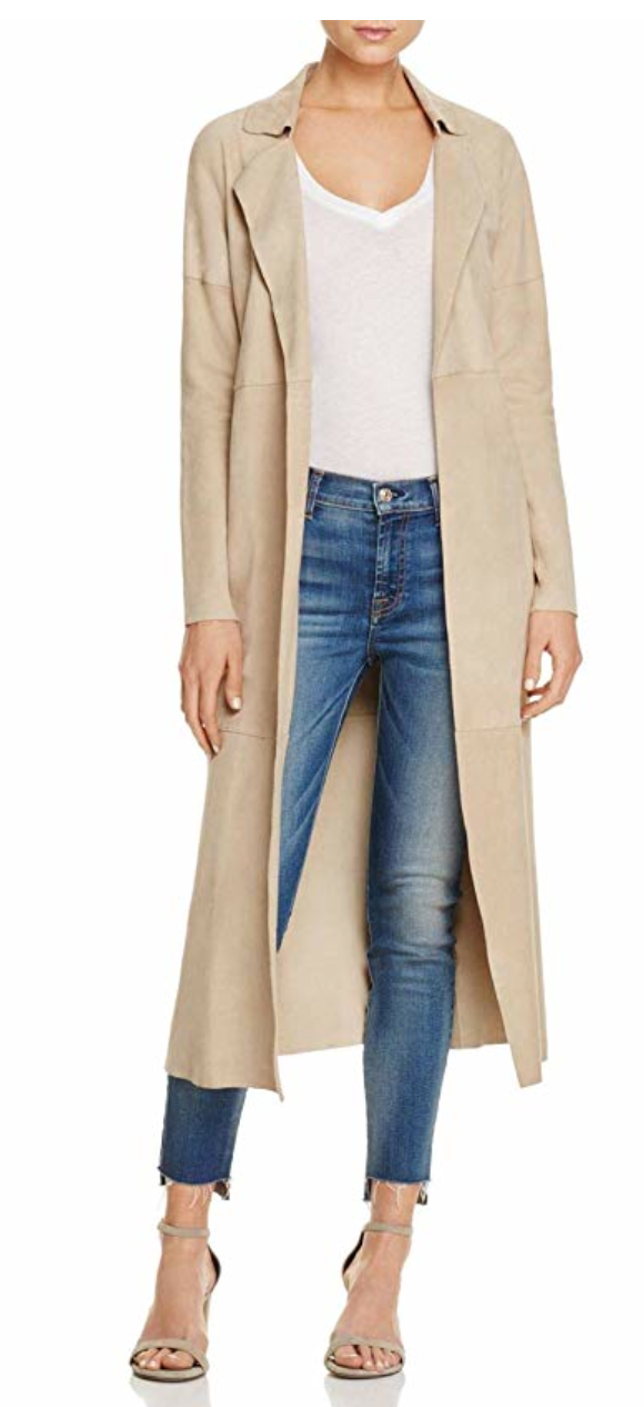 Long Suede Trench | Dune