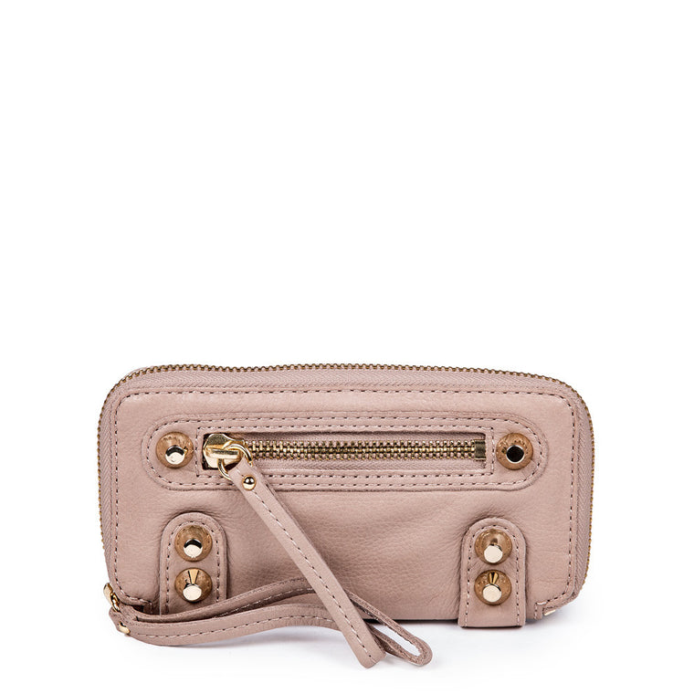 Linea Pelle Dylan Wallet in Taupe