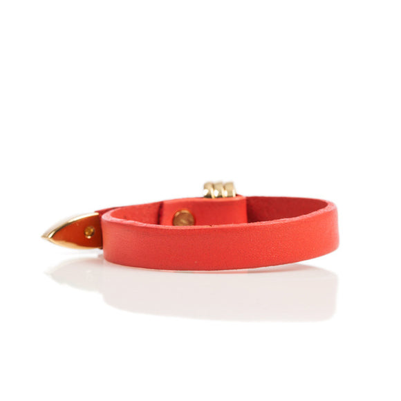 Linea Pelle Avery Bracelet in Watermelon
