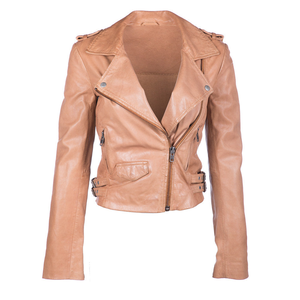 Axel Washed Leather Jacket