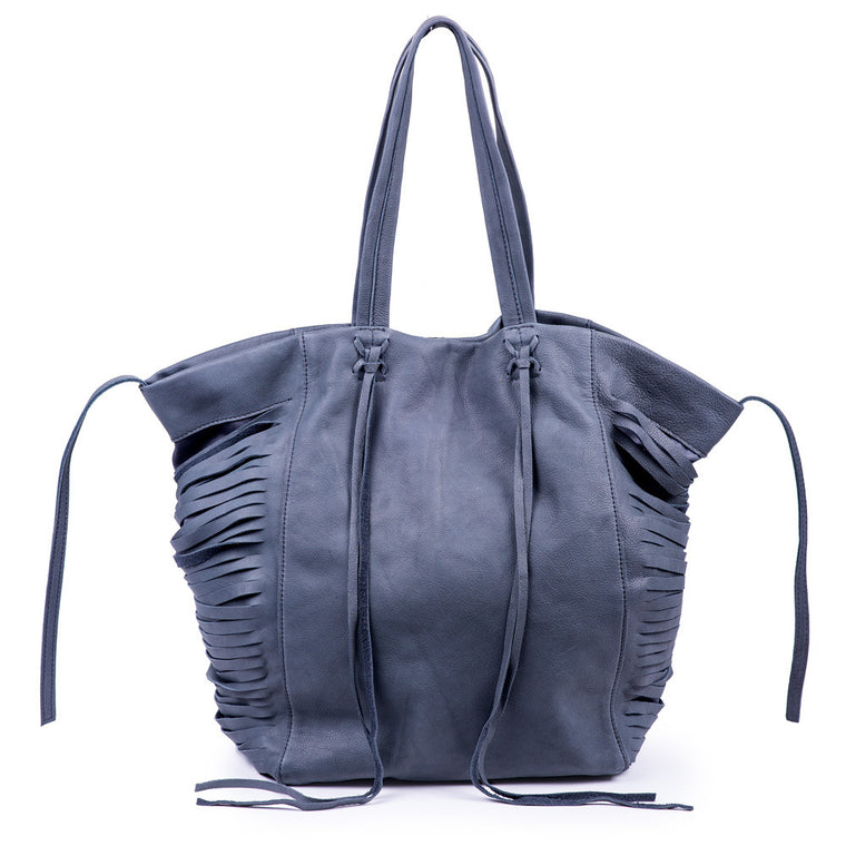 Linea Pelle Harper Sliced Tote in Blue