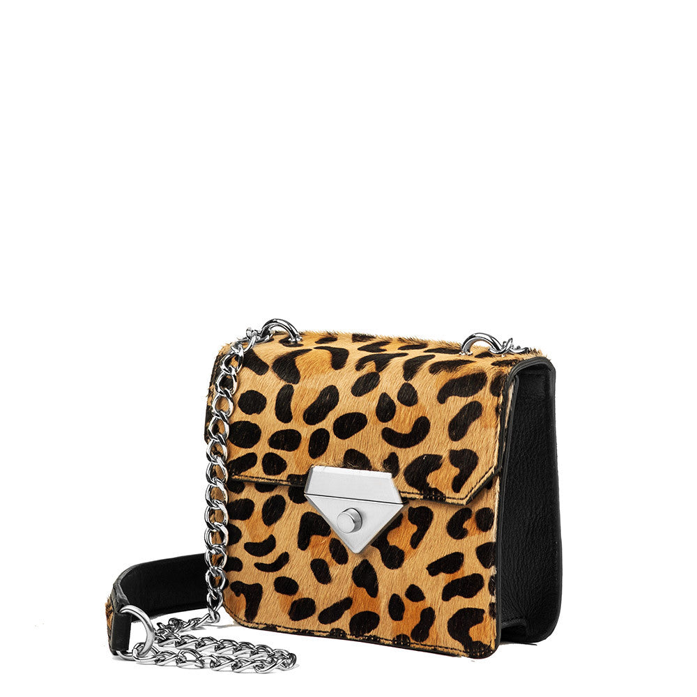 Linea Pelle Bowery Shoulder Bag in Haircalf