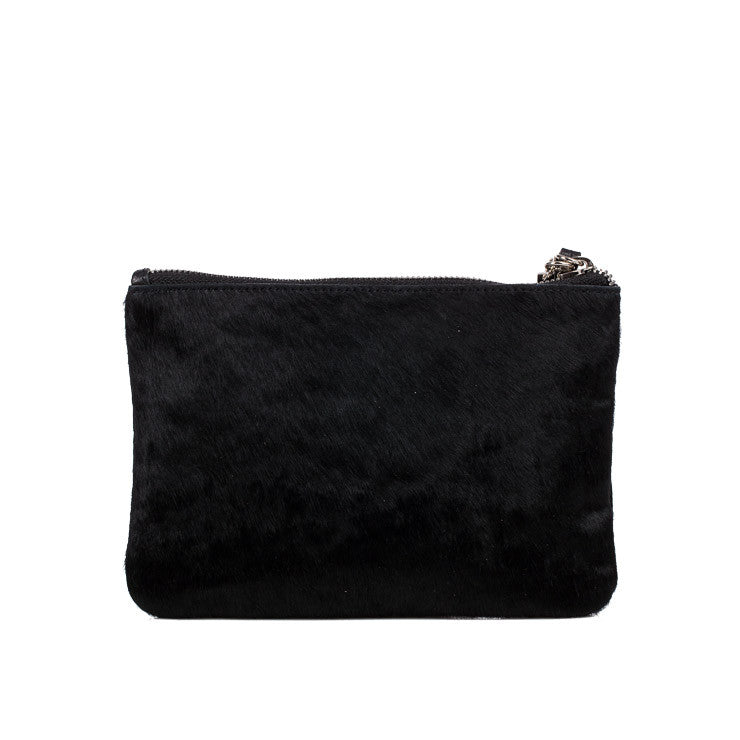 Linea Pelle Small Clutch Set in Black