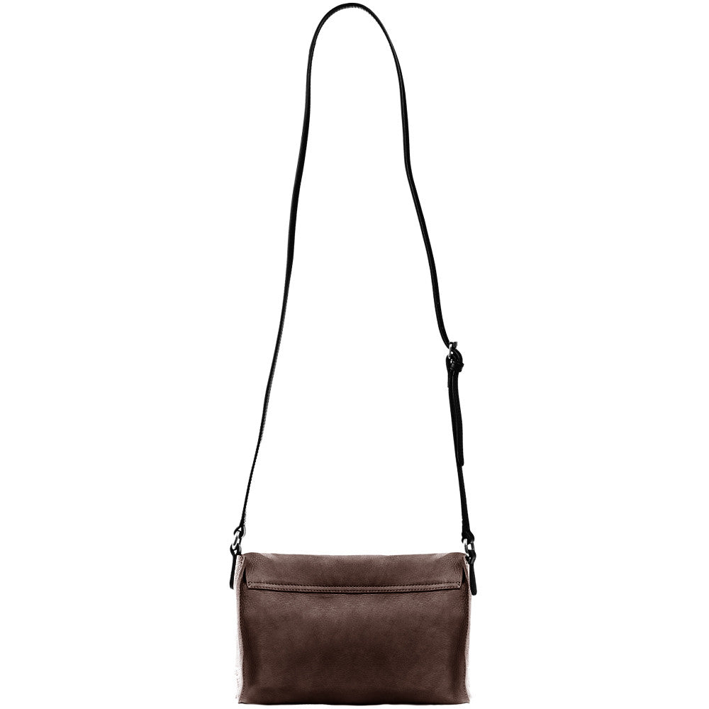 Linea Pelle Hunter Crossbody in Chocolate