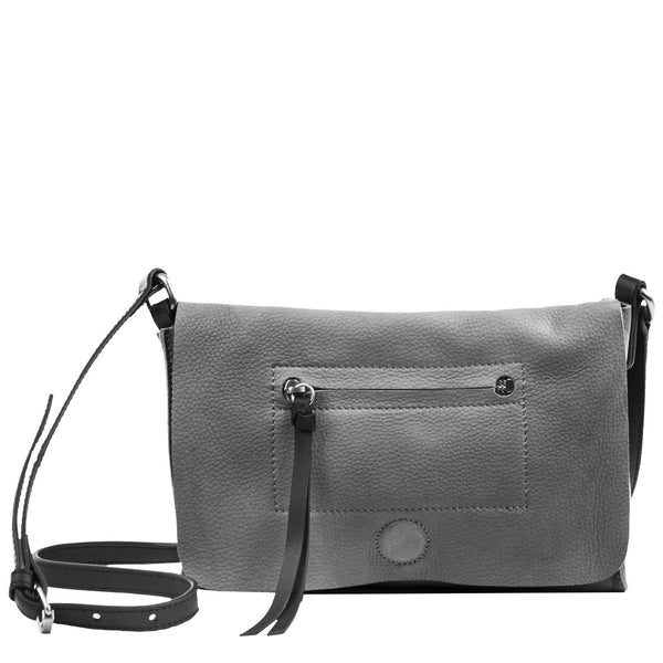 Linea Pelle Hunter Crossbody in Fog