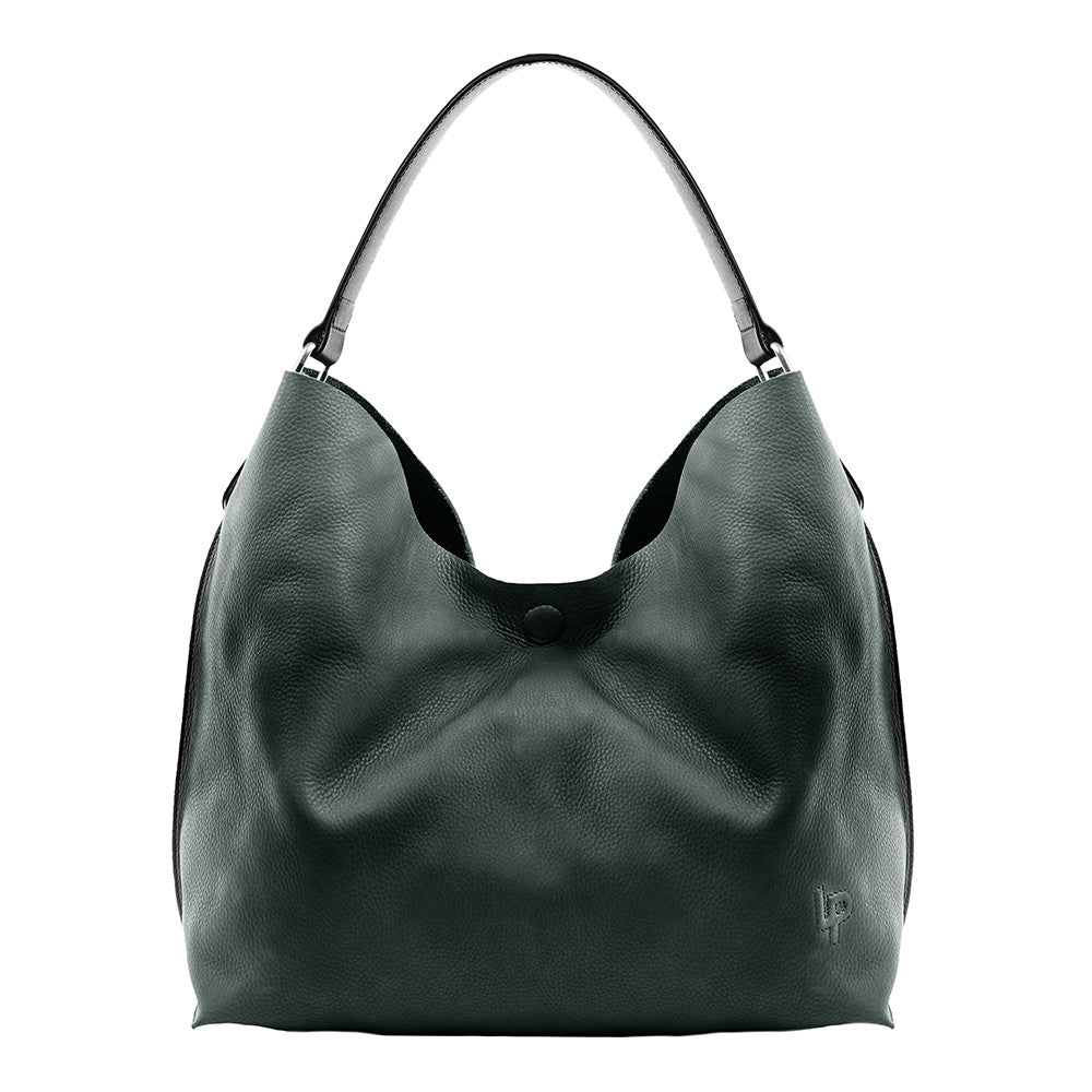 Linea Pelle Hunter Hobo in Olive