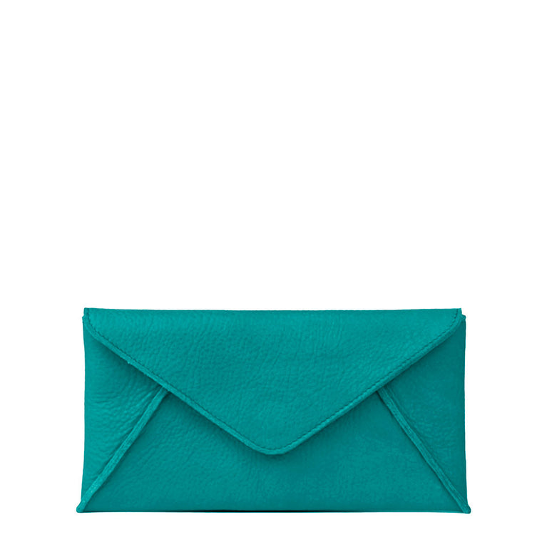 Linea Pelle Hunter Wallet in Peacock