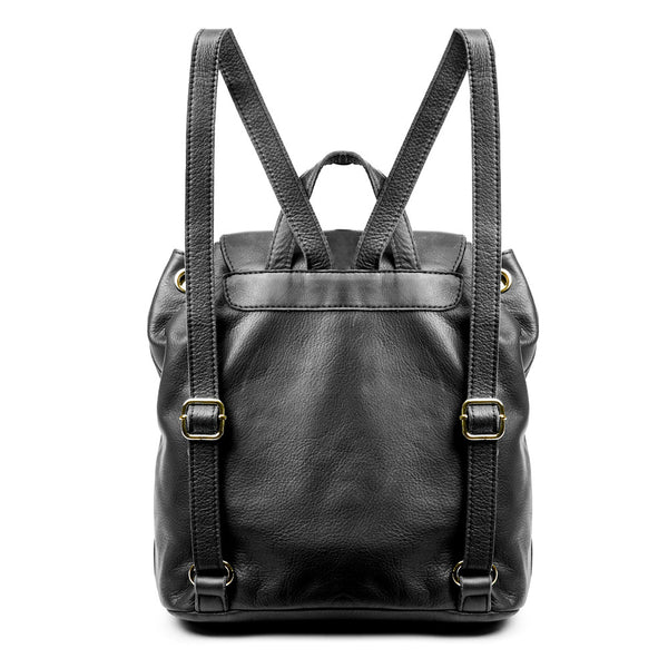 Linea Pelle Dylan Backpack in Black