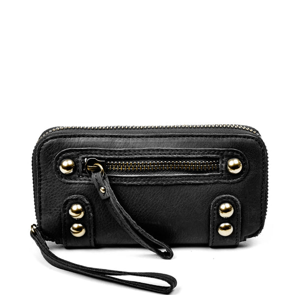Linea Pelle Dylan Wallet in Black