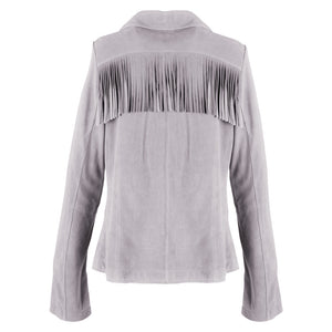 The Fringe Blazer | Dove