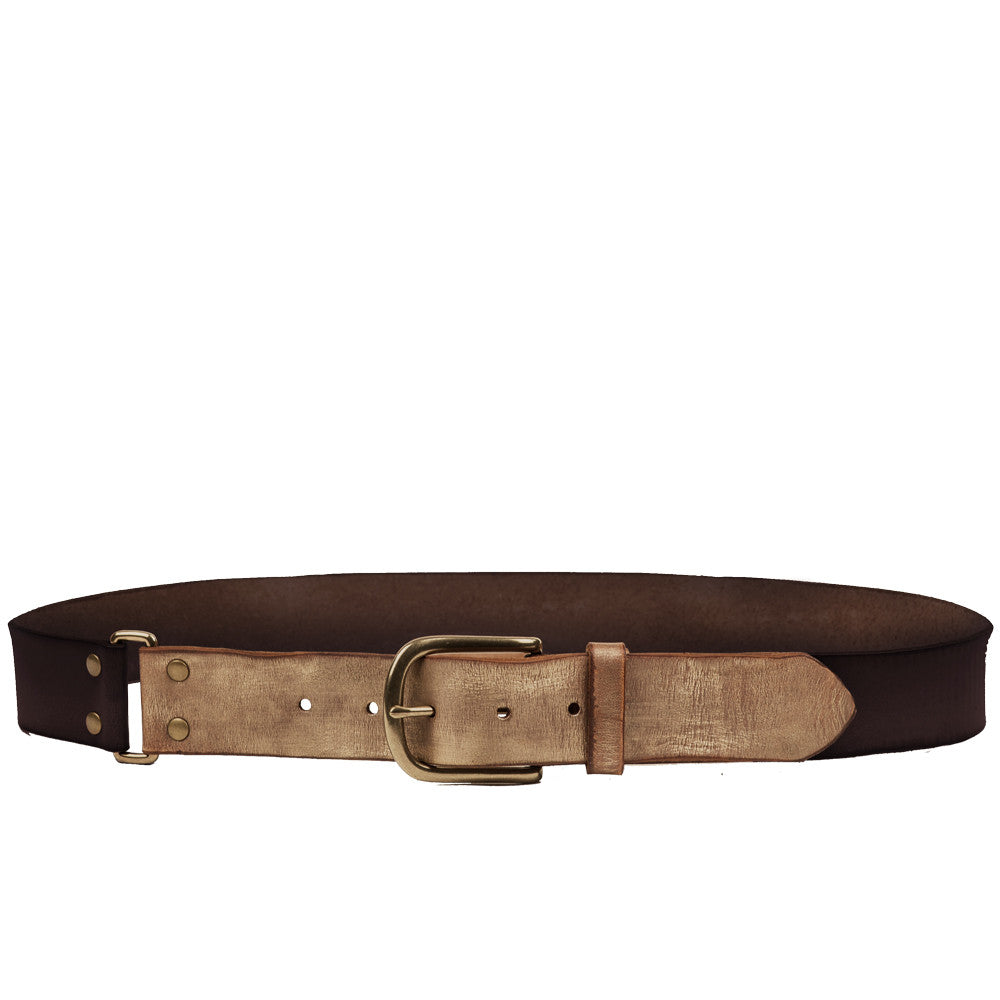 Linea Pelle Color Block Hip Belt in Tmoro